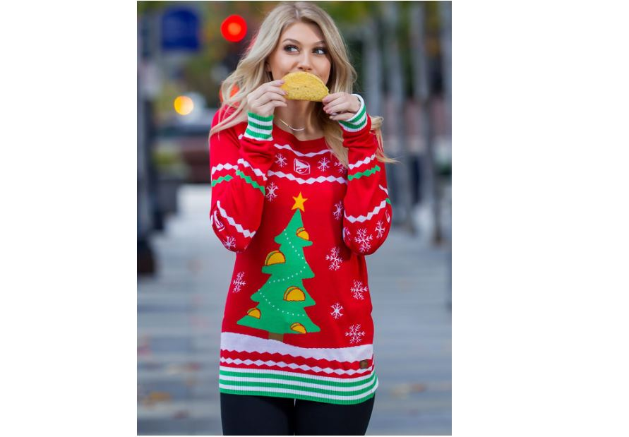 womens oversized ugly christmas sweater